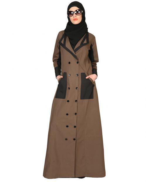 Trench Coat Style Abaya