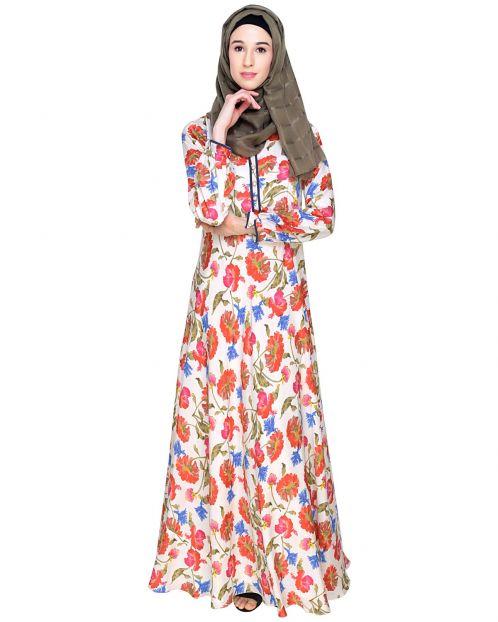 Summer Love Floral Maxi Dress