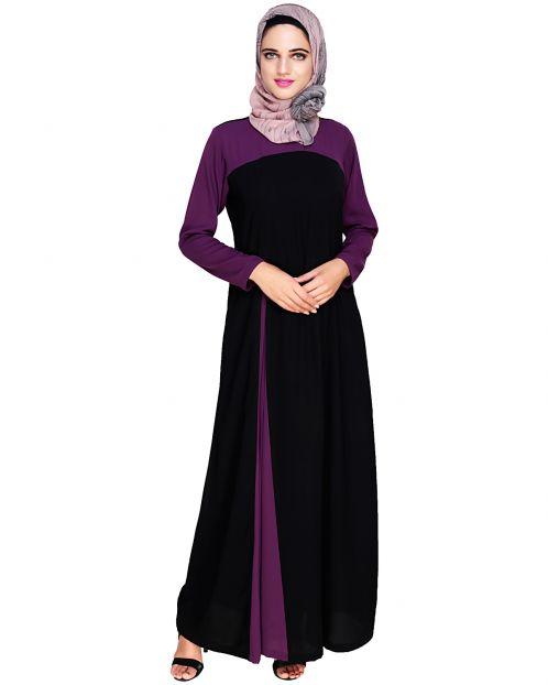 Accordion Side Pleated Abaya