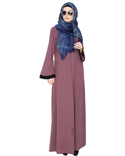 Vintage Purple Abaya