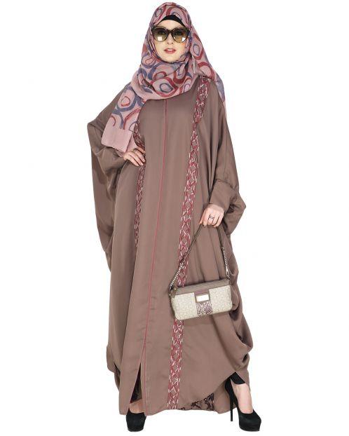 Ravishing Umber Brown Kaftan