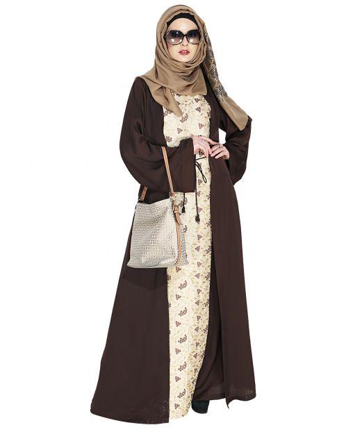 Effortless Layered Abaya