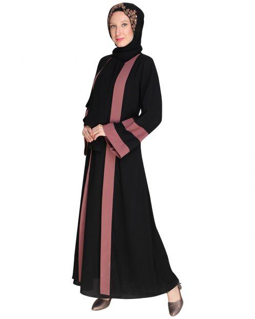 Contemporary Black Abaya