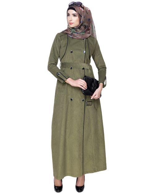 Irani Coat Style Abaya