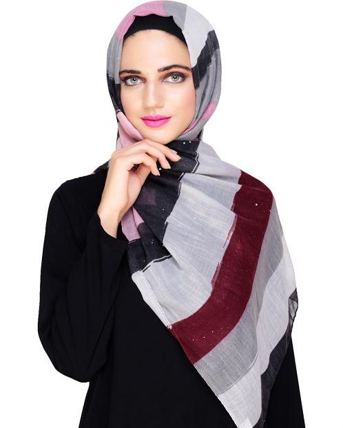 Multicolor Eloquent Hijab