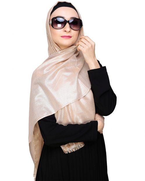 Diva Brown Shimmer Hijab