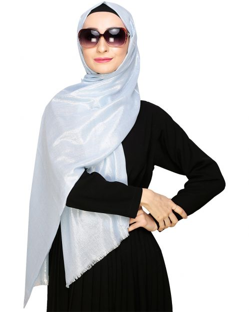 Diva Sky-Blu Shimmer Hijab
