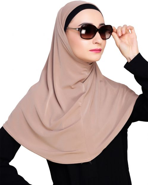 Elegant Cedarwood Mariam Hijab