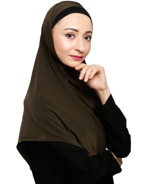 Elegant Olive Mariam Hijab