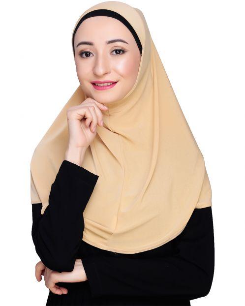 Elegant Beige Mariam Hijab