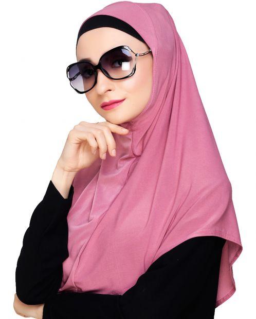 Elegant Onion Pink Mariam Hijab