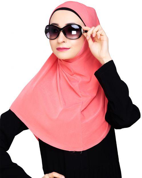Elegant Peach Mariam Hijab