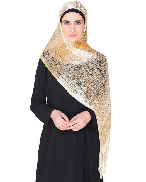 Light Golden Hijab