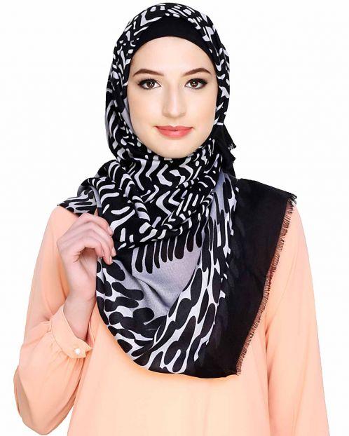 Multi Abstract Print Hijab