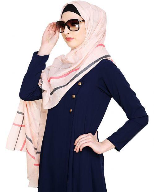 Multi-color Checkered Hijab