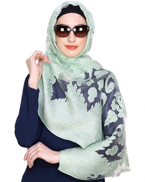 Mint Brasso Hijab