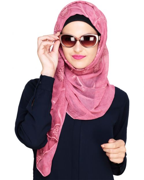 Floweret Dead Rose Hijab