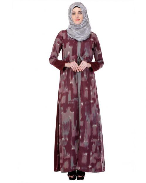 Laered Robe style Casual Abaya