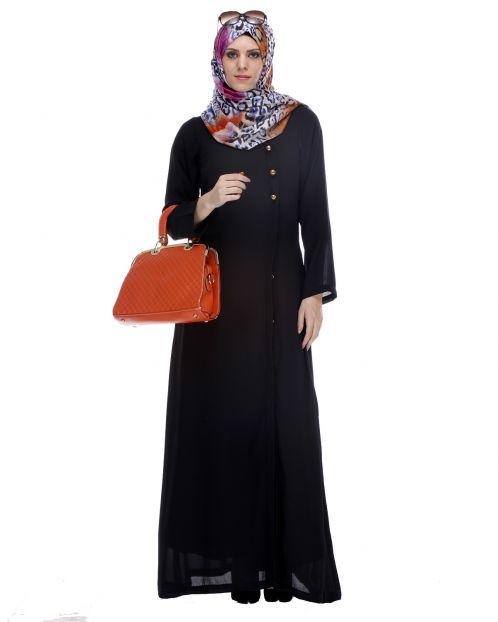Classic Black Abaya