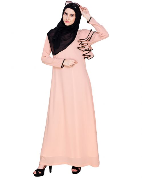 Romantic Founce Abaya