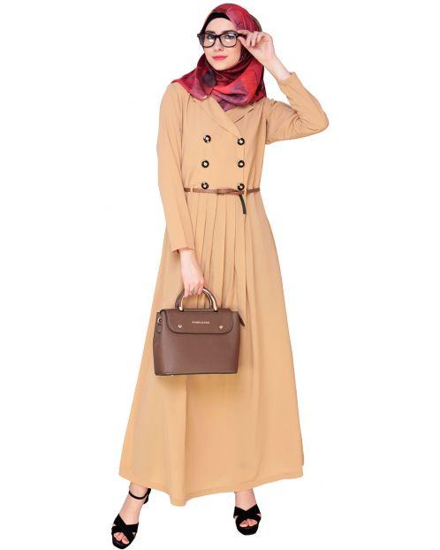 Fawn Coat Style Abaya