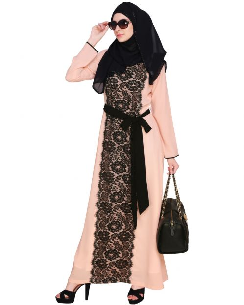 Lace Abaya Dress
