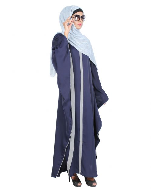 Blue & Grey Kaftan