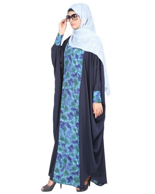 Stylish Blue Printed Kaftan