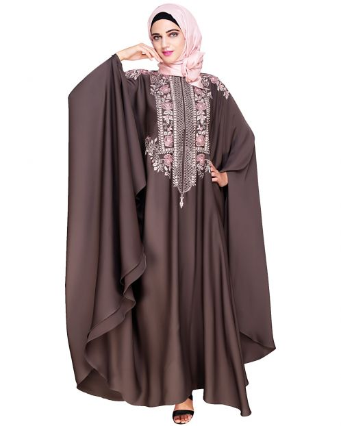 Royal Brown Irani Kaftan