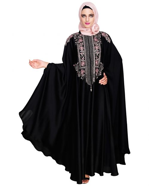 Royal Black Irani Kaftan