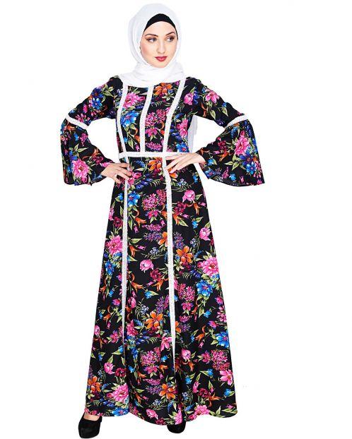 Alluring Printed Maxi Dress