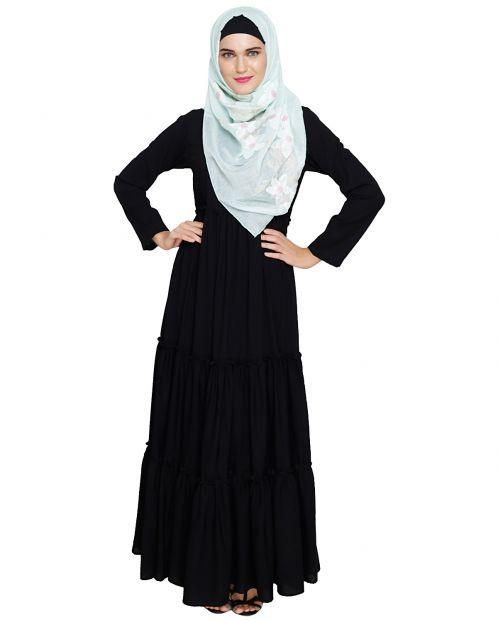 Modest Black Abaya
