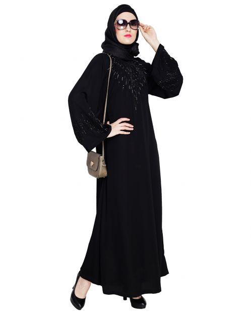 Ornate Black Style Abaya