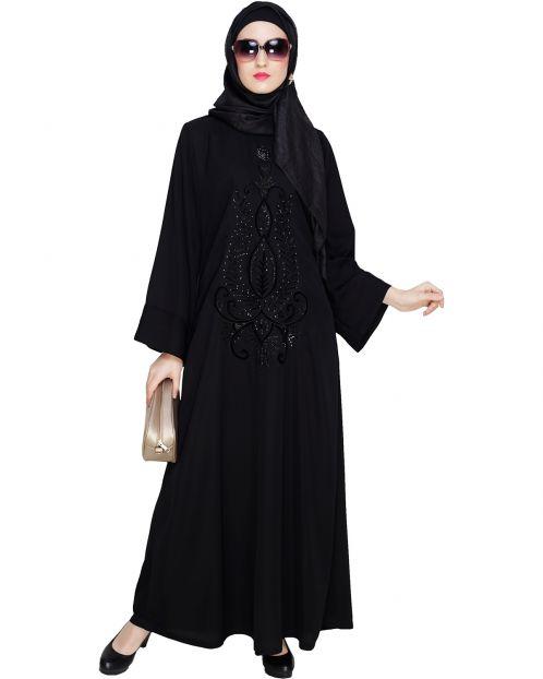 Exclusive Black Dubai Style Abaya