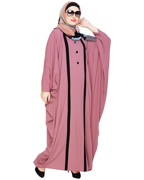 Colourblock Onion Pink Kaftan
