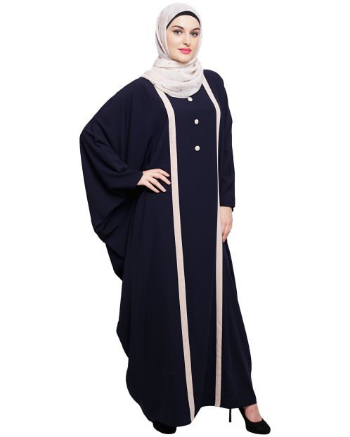 Colourblock Blue Kaftan