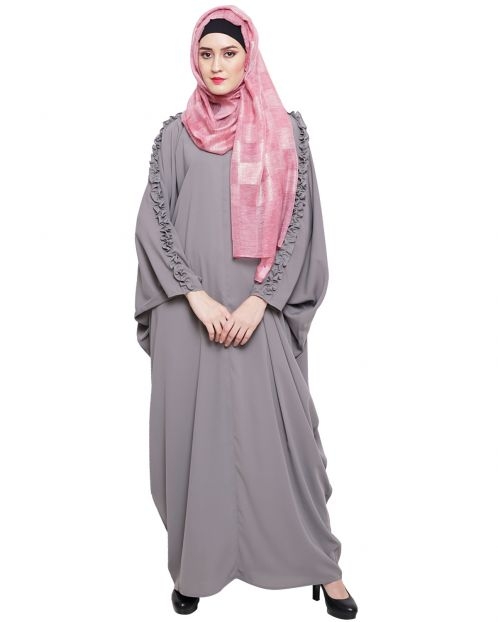 Dreamy Grey Kaftan