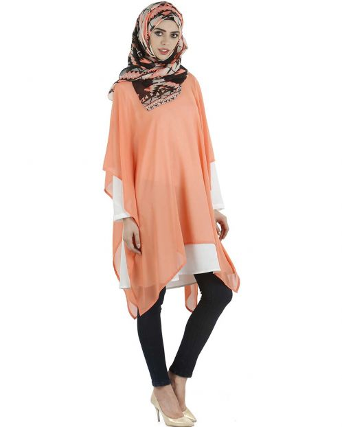 Layered kaftan top