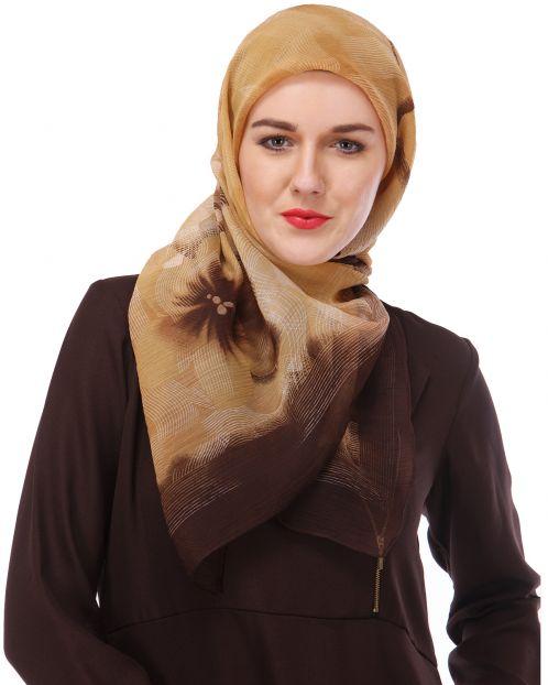 Digital Print Chiffon Hijab