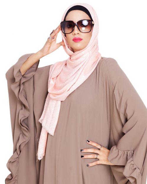 Diva Peachy Shimmer Hijab