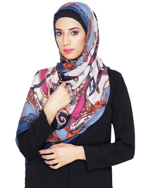 Gorgeous Abstract print Hijab