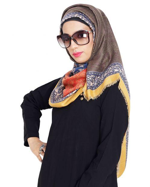 Beautiful Paisley Printed hijaab