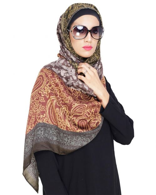 Beautiful Paisley Printed hijab