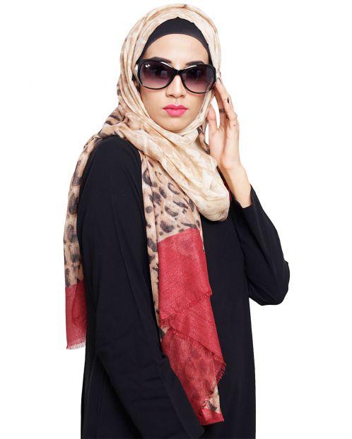 Glamorous Print Hijab