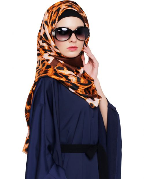 Abstract Printed Hijab