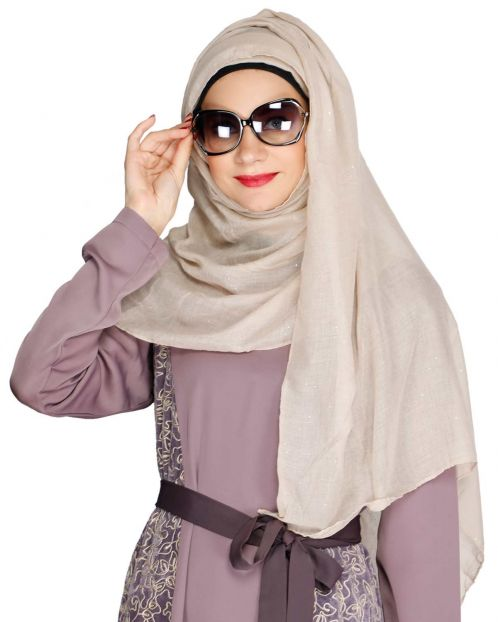 Taupe color Hijab