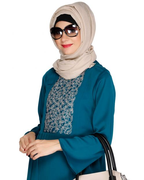 Sprinkled Glitter Toupe Casual Hijab