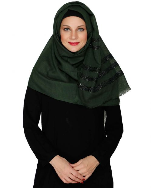 Green Party Wear HIjab