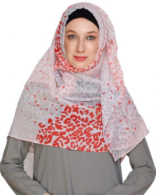 Colour Drop Peach Hijab
