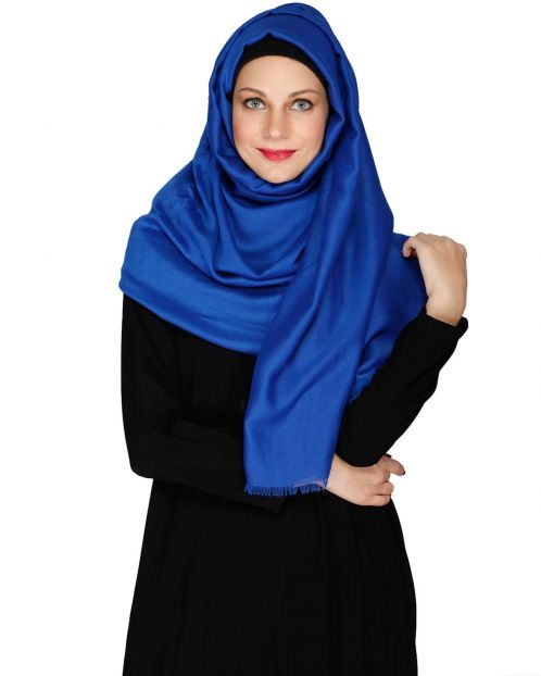 Royal Blue Solid HIjab